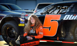 Dominique Van Wieringen Proves Tenacious in her Rattler 250 Debut at South Alabama Speedway
