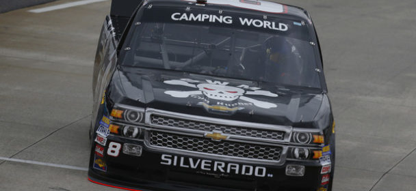 Gear Trouble Slows John Hunter Nemechek at Martinsville Speedway